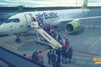 Recensione Air Baltic